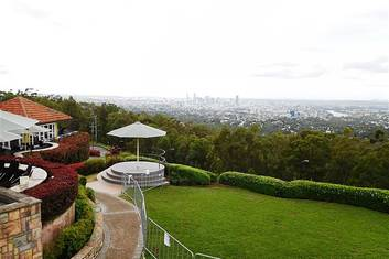 Mt Coot-tha scenic views