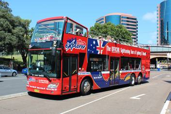 Sydney and Bondi Beach 'Big Bus' 24 Hour Pass