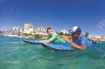 Bondi Surf Lesson 1.5 hr - Private Group
